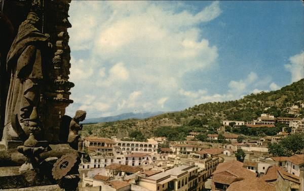 Panoramic View of Taxco Mexico E. Fischgrund