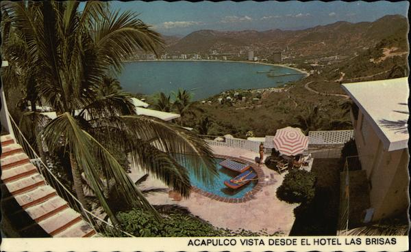 Panoramic View of Acapulco, Mexico