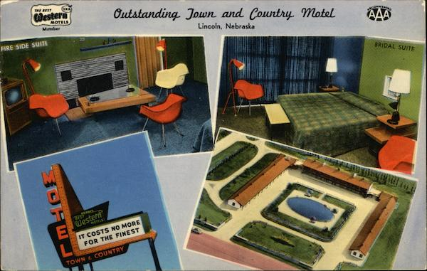Outstanding Town and Country Motel Lincoln Nebraska