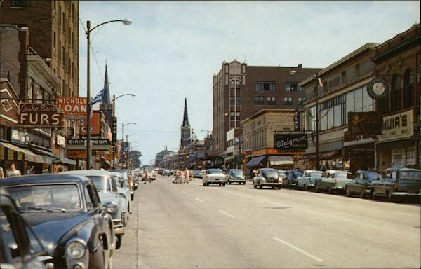 Franklin Street Michigan City Indiana William Harold Harvey