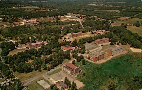 Aerial View of Thiel College Campus Greenville Pennsylvania