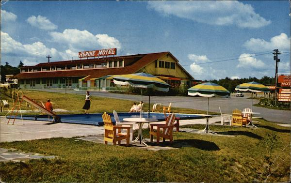 Alpine Motels & Restaurant Lake Placid New York