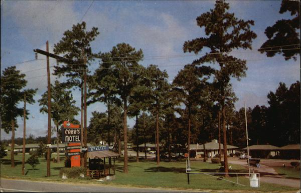 Cobb's Motel and Restaurant Rocky Mount North Carolina