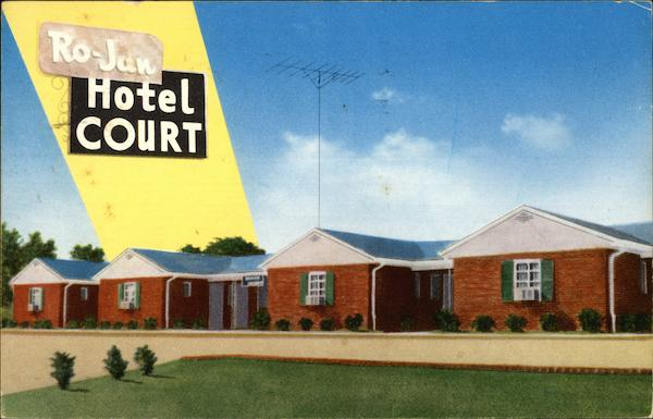 Ro-Jan Motel Rockingham North Carolina