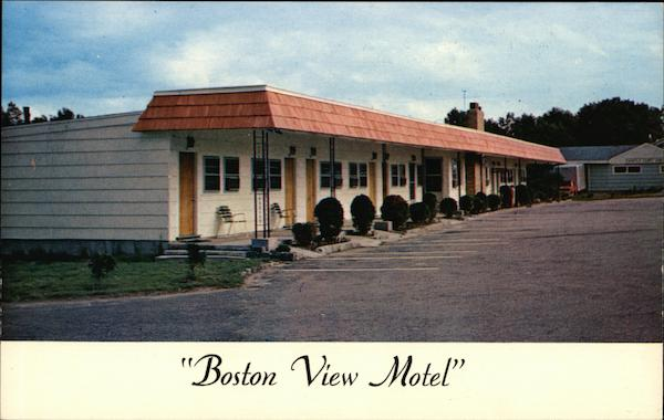 Boston View Motel Walpole Massachusetts