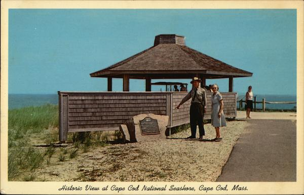 Historic View at Cape Cod National Seashore Massachusetts