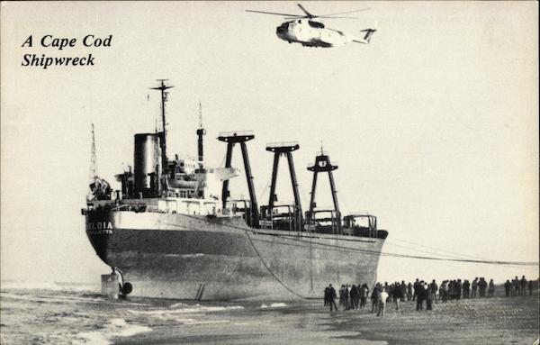 A Cape Cod Shipwreck - The Maltese Freighter Eldia