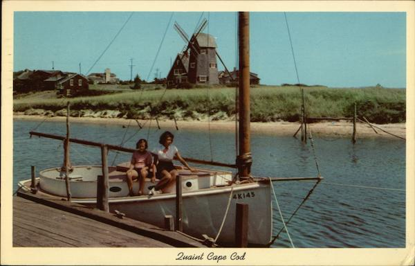 36- Herring River Scene, Cape Cod West Harwich Massachusetts