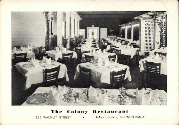 The Colony Restaurant Harrisburg Pennsylvania
