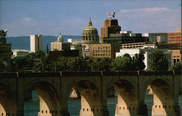 View of Harrisburg Pennsylvania