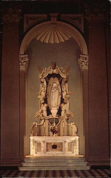 St. Patrick's Cathedral - The Madonna Altar Harrisburg Pennsylvania