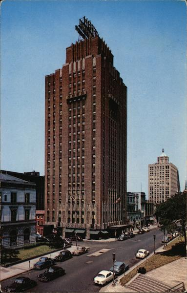 The Hotel Harrisburger Pennsylvania Ernest Bostelman