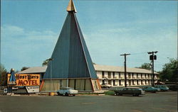 Host Ways Motor Inn Postcard