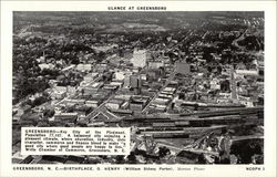 Glance at Greensboro - Birthplace O. Henry (William Sidney Porter)