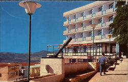 "The ""Mizpor"" Hotel with a View of the ""Davidka""."