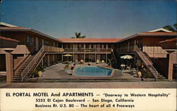 "El Portal Motel and Apartments - ""Doorway to Western Hospitality"""