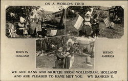 Dutch Children On A World's Tour