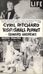 Cyril Ritchard in Visit to a Small Planet
