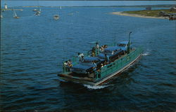 "The ""On Time Ferry"" II from Edgartown, Martha's Vineyard"