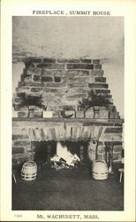 Fireplace, Summit House, Mount Wachusett