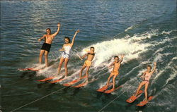 A Water Skiing Family