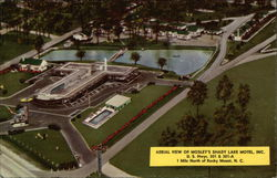 Aerial View o Mosley's Shady Lake Motel