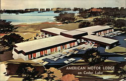 American Motor Lodge on Cedar Lake