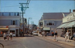 Commercial Street, looking West- Cape Cod