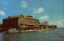 Boston Yacht Club Postcard