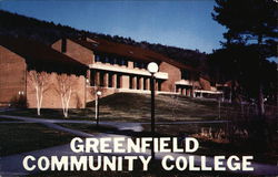 Greenfield Community College Postcard