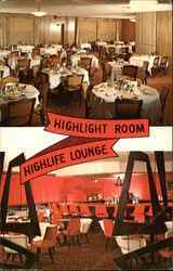Highlight Room & Highlife Lounge Postcard