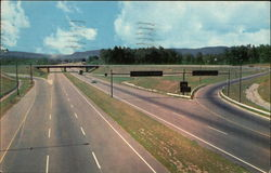 The Massachusetts Turnpike - Westfield Interchange