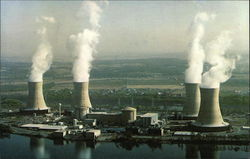3-Mile Island Nuclear Generating Station Postcard