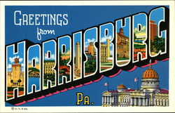 Greetings from Harrisburg, PA
