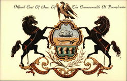 Coat of Arms of Pennsylvania Commonwealth