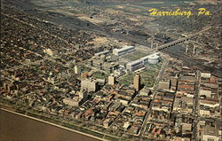 Aerial View of Harrisburg