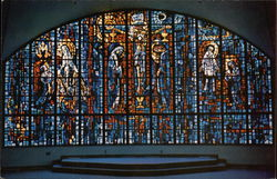 Main Sanctuary Window, Shine of the Miraculous Medal