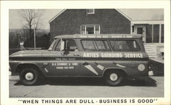 Arties Grinding Service Automobile