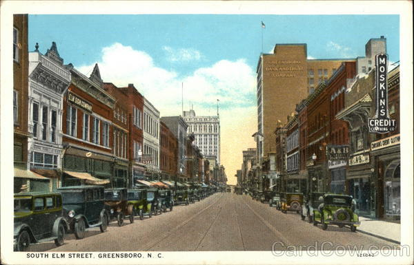 South Elm Street Greensboro North Carolina