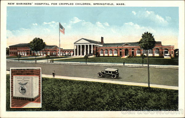 New Shriners' Hospital For Crippled Children Springfield Massachusetts