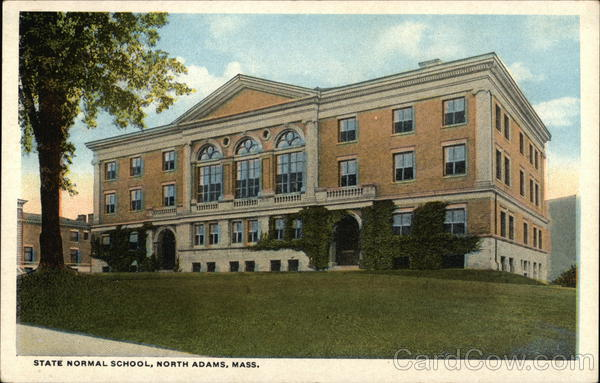 State Normal School North Adams Massachusetts