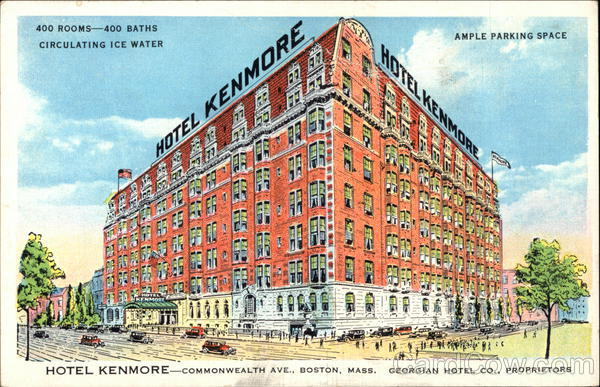 Hotel Kenmore - Commonwealth Avenue at Kenmore Square Boston Massachusetts