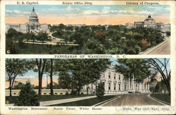 Panoramas of Washington D.C. District of Columbia
