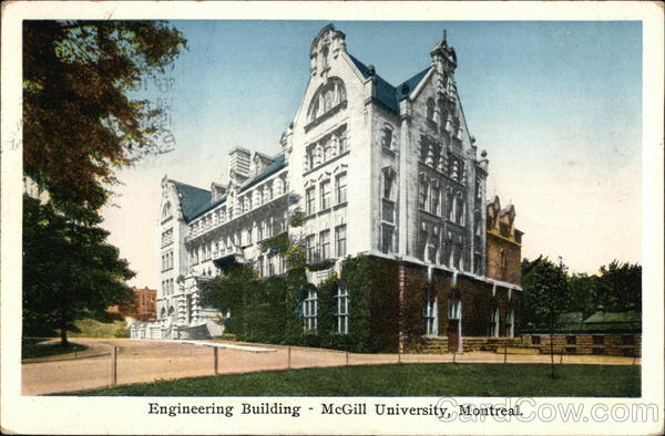 Engineering Building - McGill University Montreal Canada
