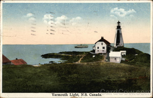 Yarmouth Light Canada Nova Scotia