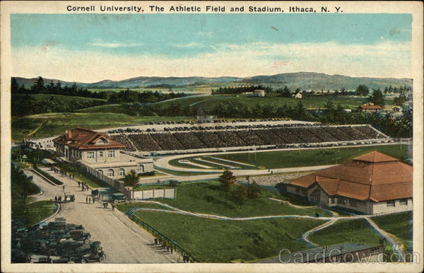 Cornell University, The Athletic Field and Stadium Ithaca New York