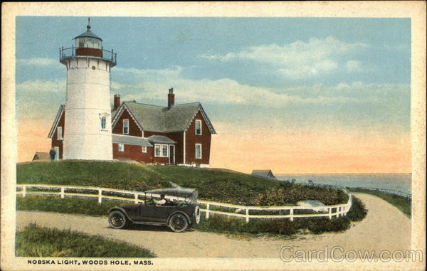 Nobska Light Woods Hole Massachusetts Lighthouses