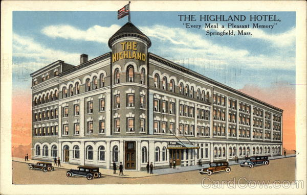 The Highland Hotel Springfield Massachusetts
