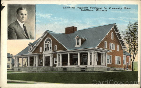 Kalamazoo Vegetable Parchment Company Community House Michigan