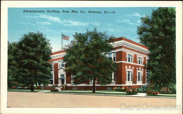 Administration Building, Boss Manufacturing Company Kewanee Illinois